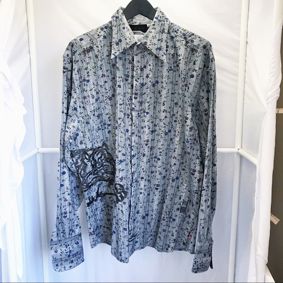English Laundry Shirts Christopher Wicks Embroidered